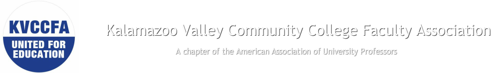 Kalamazoo Valley Community College Faculty Association<br />American Association of University Professors